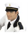 Kapiteins petten wit volwassenen