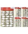 Kerstcadeautjes naamstickers-naam etiketten goud