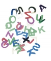 Knutelpailletten letter 6 mm 400 stuks