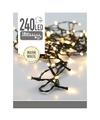 LED kerstverlichting warm wit 240 lampjes