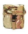 Luxe munitietas vierkant bij soldaten kostuum