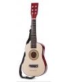 Naturel speelgoed gitaar