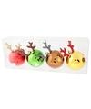 Rendieren kerstballen voor kinderen
