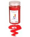 Rood decoratie zand 500 gram