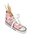 Schooletui sneakervorm roze 24,5 cm