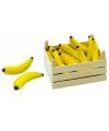 Speelgoed bananen in kist