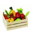 Speelgoed groente en fruitkist