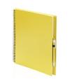Tekeningen maken schetsboek A4 gele kaft