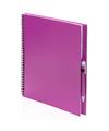 Tekeningen maken schetsboek A4 roze kaft