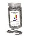 Zilver decoratie zand 500 gram