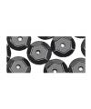 Zwarte pailletten 6 mm 500 stuks