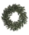 Kerst krans groen 50 cm dennenkransen versiering-decoratie